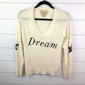 Wildfox White Label Dream Cream Sweater Size Small